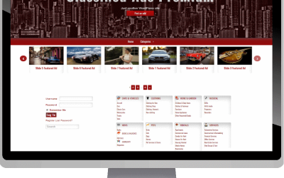 wordpress free template, free template download, website template, website template free download, bijoyit.com7